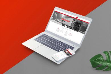 Site internet pour RH Transport